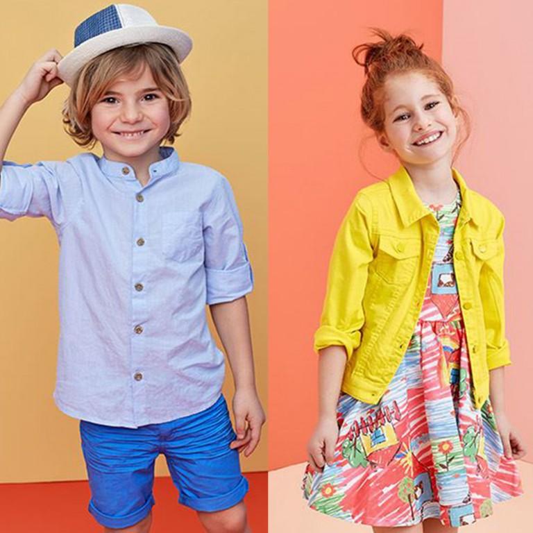 Bu Yaz Çocuklarda Modaya Ayak Uyduruyor!