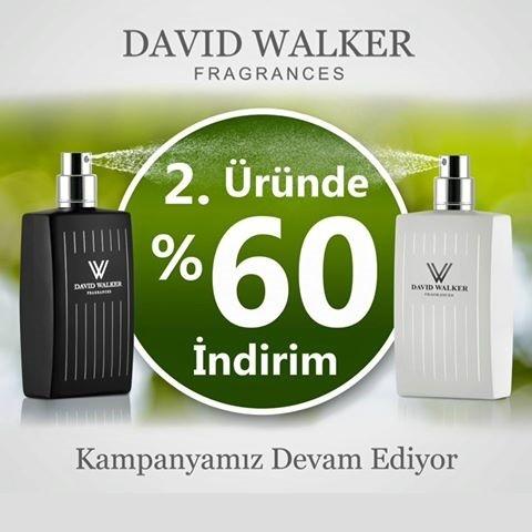 2.Üründe %60 İndirim David Walker'da!