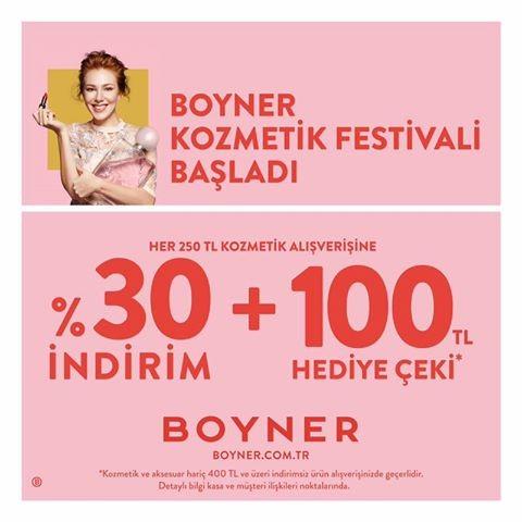 Boyner'de Kozmetik Festivali Başladı!