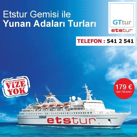 Etstur Gemisi ile Yunan Adaları Turları!