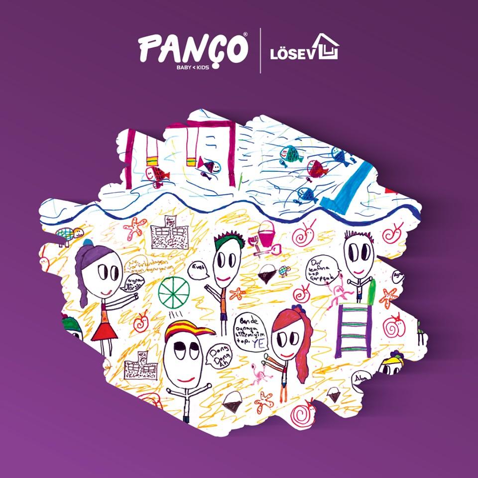Panço Lösev'deki Çocuklarımızın Çizdiği Hayalleriyle T-shirtler Tasarladı!