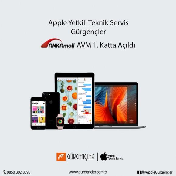 Apple Yetkili Teknik Servisi Apple Gürgençler ANKAmall 1. Katta Açıldı...