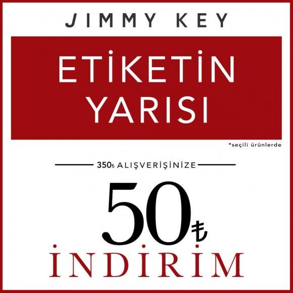 Jimmy KEY'de etiketin yarısı!