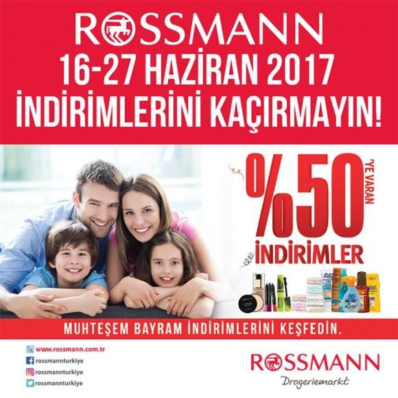 Rossmann'da 16 - 27 Haziran İndirimlerini Kaçırmayın!
