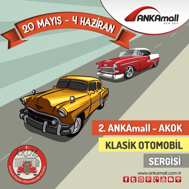 2. ANKAmall AKOK Klasik Otomobil Sergisi!