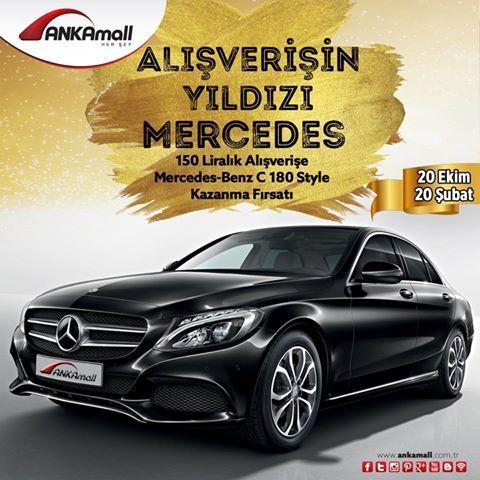 Alışverişin Yıldızı Mercedes ANKAmall'dan!