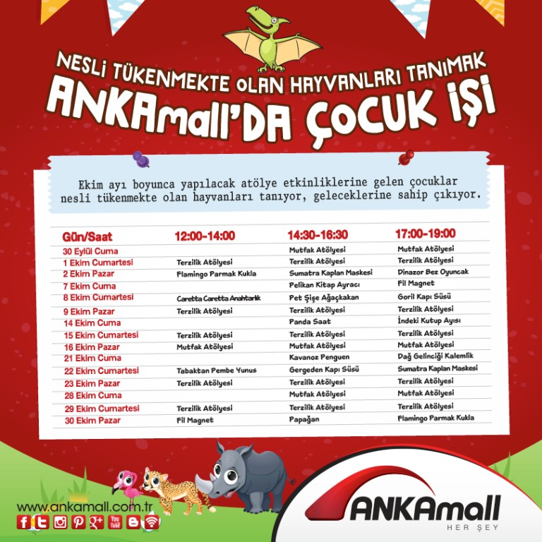 ANKAmall'da Çocuk İşi