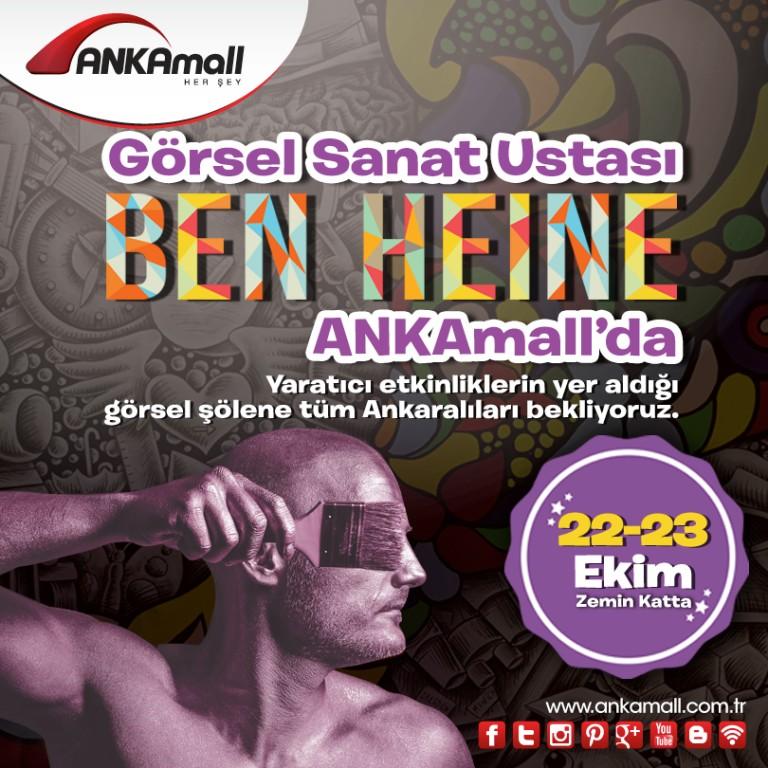Görsel Sanat Ustası Ben Heine ANKAmall'da!
