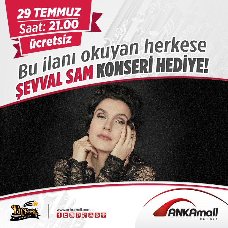 Şevval Sam ANKAmall'da!